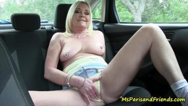Panty Fetish Masturbation with Ms Paris Rose