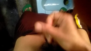 Doing rough sex in toilet and screaming so loud fuck me harder please