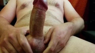 Daddy Edges His Big Thick Cock & Cums For His Baby Girl (Dd/Lg)