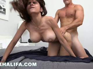MIA KHALIFA – Arab Babe Passionately Fucked By Big Dick Stud, Sean Lawless