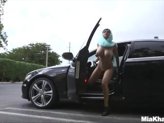 Pornstar trains her muslim friend how to suck...
