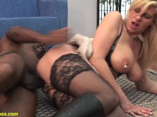 Extreme german milf rough anal fucked by a...
