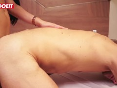 LETSDOEIT - Horny Stud Gets a Tranny Surprise at Massage Parlor