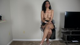 Desi wife describes to her cuck hubby how she got pounded by a black guy