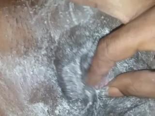 Shaving wife ebony pussy first time super bowl sunday 2019