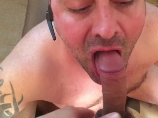 Daddy opens wide 4 load...