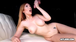Sprayed With Cum At The Milking Table With Lauren Phillips