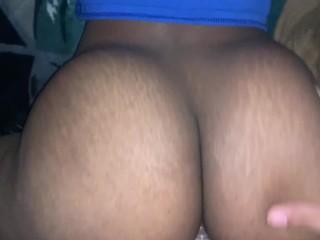 Bubble butt Teen Twerking on my Dick