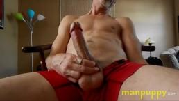 Gay Daddy Huge Cock Solo Underwear Giveaway Jerk Off - Richard Lennox