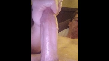 Slowy Playing With My Dick With Messy Vaseline From Balls View Vegaslife486