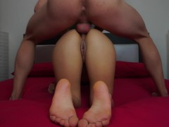 Can you please stop cumming on my ass and instead cum inside it?