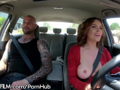DevilsFilm Krissy Lynn Offers Ride Shares on Boober!