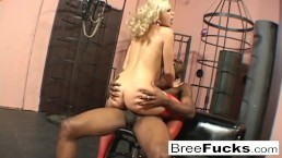 Bree Olson only wants that black cock in her ass