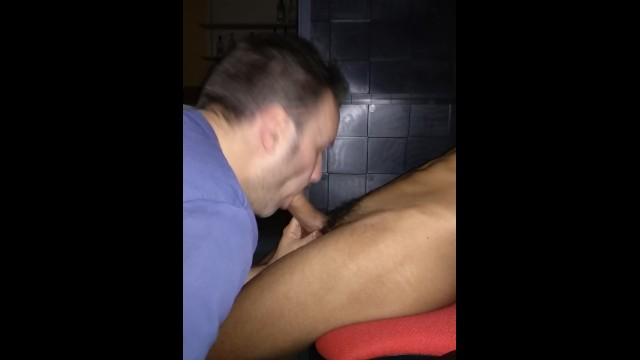 David in a gay orgy - Straight boy sucked by david