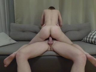 Riding cock during the trip...
