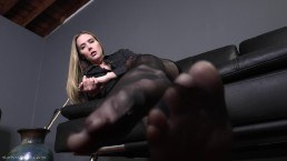 Paralyzed At My Feet - Pantyhose Domination Star Nine FULL VIDEO
