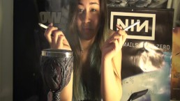 Smoking Multiples | MissDeeNicotine Smokes Two at Once