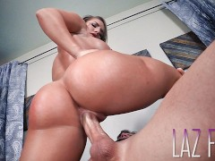 CALI CARTER: FIT CHICK gets Stuffed by LAZ FYRE