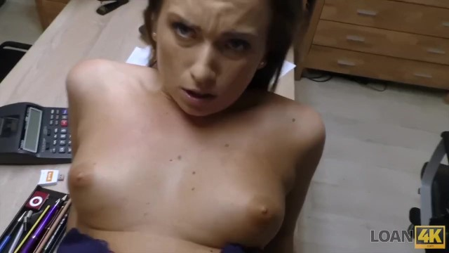 LOAN4K. Bad agent fucks good student girl and approves her documents 48
