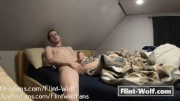 MY BRO CAUGHT ON CAM JERKING OFF (onlyfans.com/Flint-Wolf)