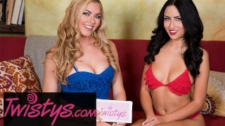 Twistys - Bailey Rayne , Jade Baker - Behind the scenes pre porn Interview