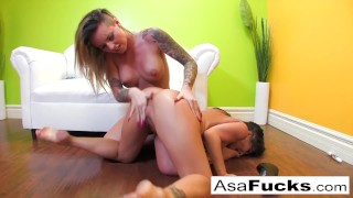 Asa And Christy's Lesbian Fuck Session