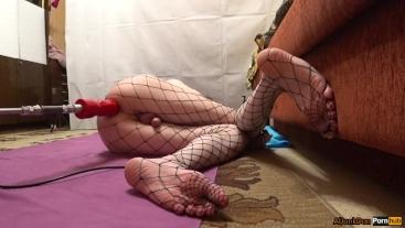 TS-girl, Feet and Ass