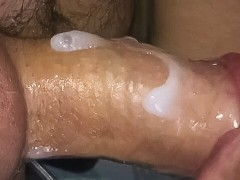 Making cum cocktail inside my mouth...