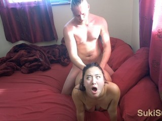 Picture of RAW uncut Sex with CUM ALL OVER HER FACE ( Sukisukigirl / @Andregotbars )