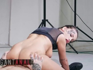 BABES – Elegant Teen Alyssia Kent gets anal cream pied