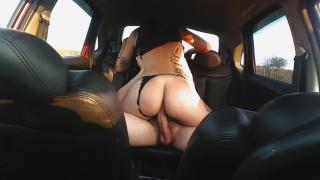 Sexo Selvagem no Carro com Facial Minha primeira Sex Tape - Dread Hot