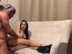 Sex tape: Training shoot with Big Larry Steele
