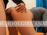 Girlfriend Fucked in the Ass After School