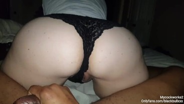 Pawg Wearing Lace Panties Bounce That Ass On A Real N#gga Dick