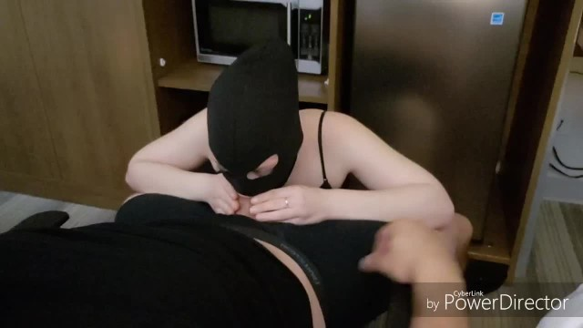 Nice assed girl gets throated in Toronto hotel 4