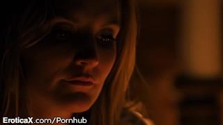 EroticaX Cute Couple Romantic Getaway With Hot Sweaty Sex Lesbian fingering