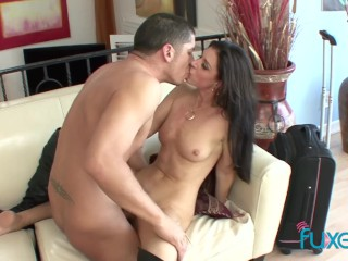 Cougar India Summer fucks her stepson