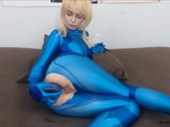 Zero Suit Samus Bad Dragon Anal Fuck