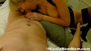 Toyboy Fingering Married Granny While I Suck His Cock
