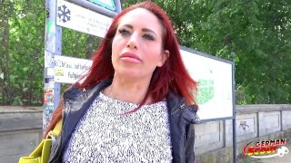 GERMAN SCOUT - REDHEAD MILF STACEY DEEP ANAL SEX AT CASTING IN BERLIN