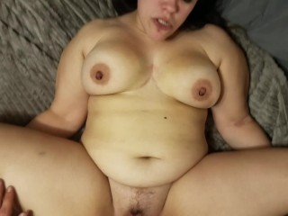 Just two amateurs fucking and having fun POV - Horny Nicky