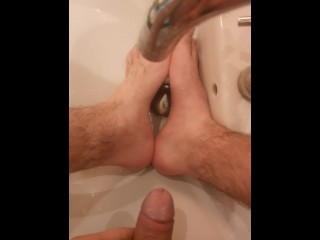 boy Piss on Feet Just Pissing on my feets
