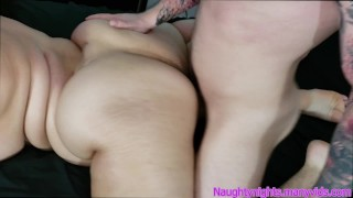 BBW With Huge Bubble Butt Gets Fucked Doggy - Raquel Love