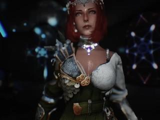 Skyrim practical series fuck female warrior...