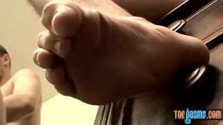 Jock fetish foot jacoby cock in boomer stroking solo cock tattoo