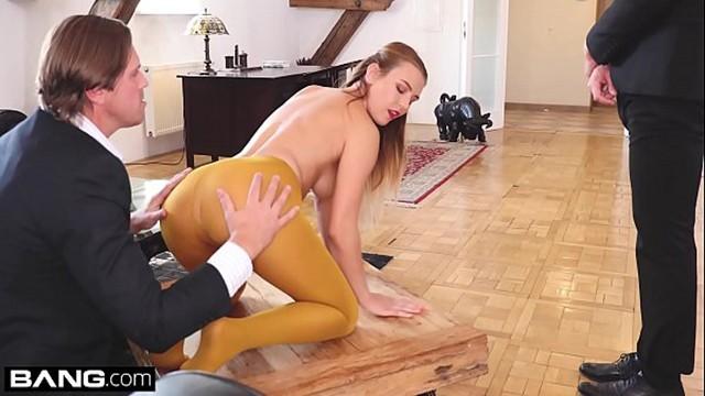 Majorova nude timea Glamkore - blonde euro babe takes on 2 cocks in sensual dp