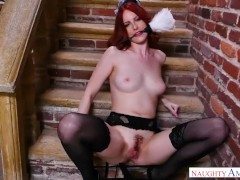 Your wife Alex Harper fulfills your naughty maid fantasy