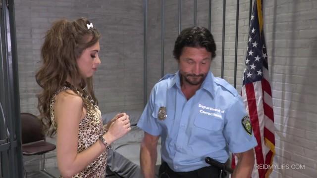 Riley Reid fucked by naughty cop 7