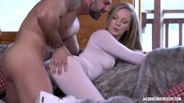 Jess and Lorenzo caught fucking in the living room - Ski, Sex and Fun sc.1