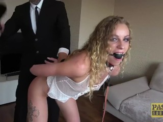 PASCALSSUBSLUTS - Nympho Angel Emily throated with BDSM cock